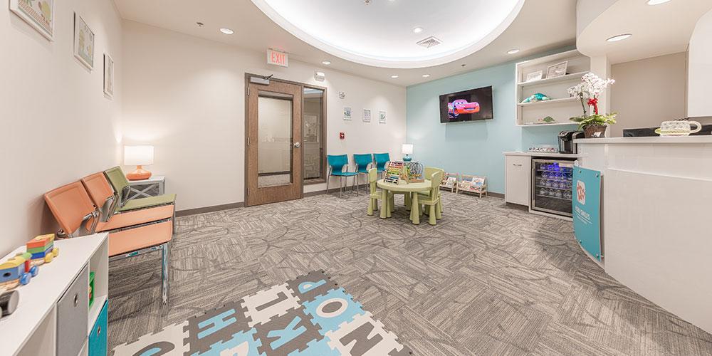 office reception room